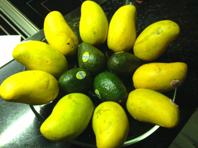 Mangoes and Avacadoes